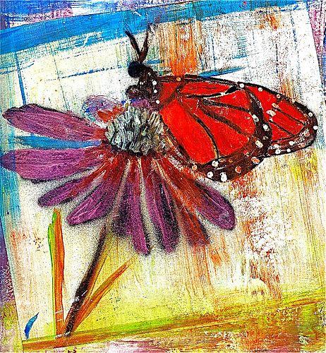 Flower & butterfly final
