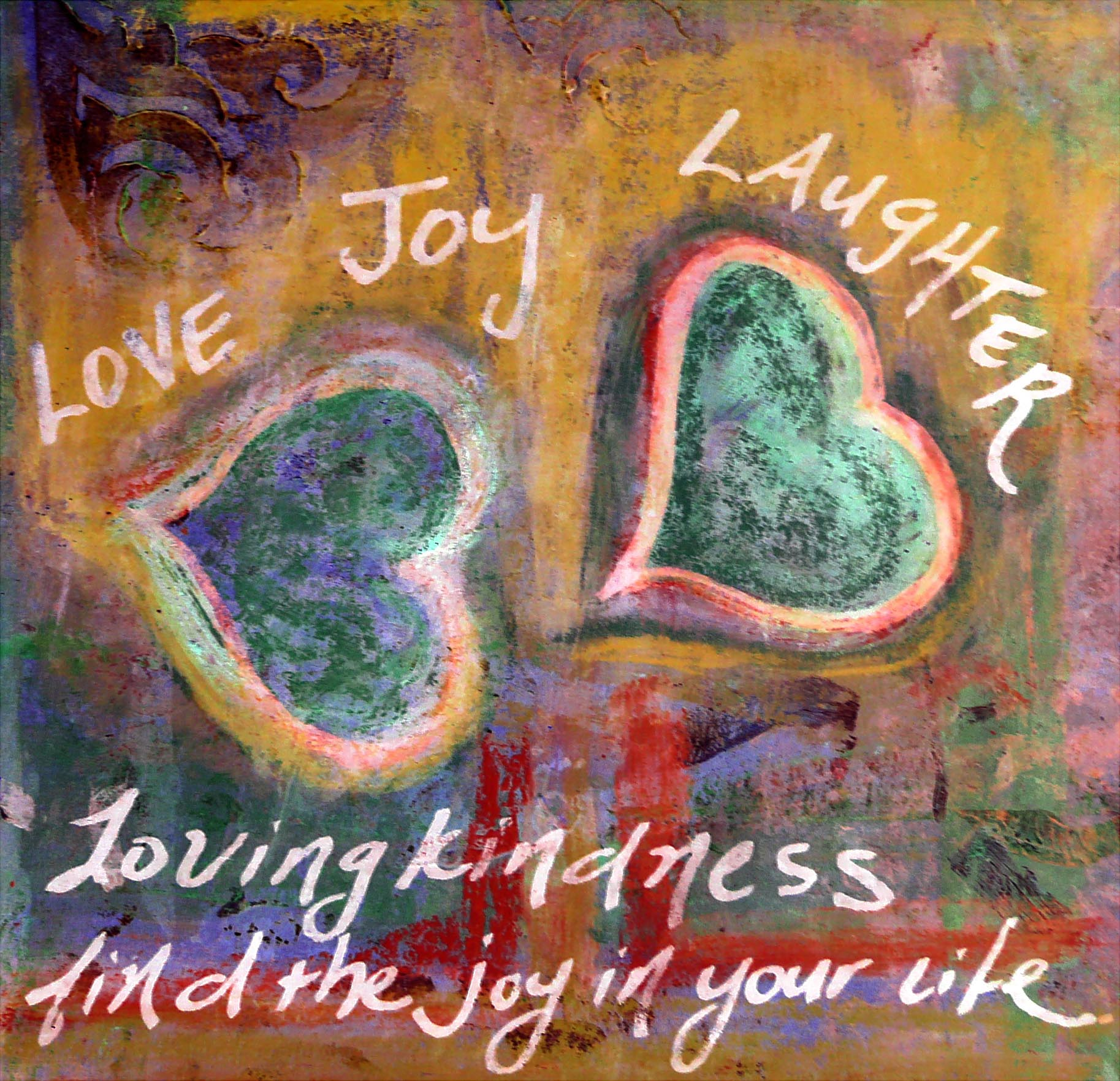 Love joy laughter