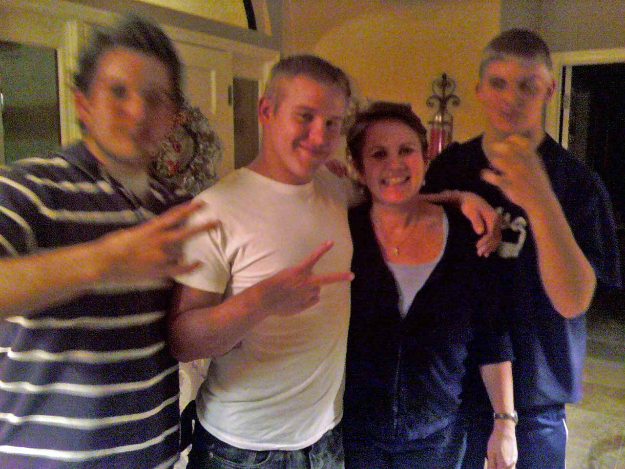 Me and boys