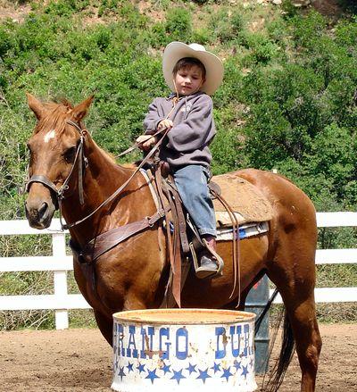 Justin&horse