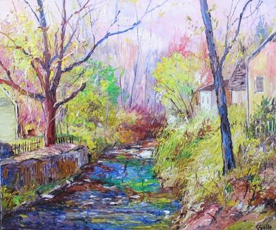 Picture 63_Along the Canal, New Hope, Pennsylvania